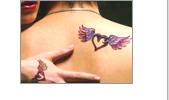 Csillám tetoválás, Art glitter