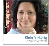 Klein Viktória - szalonvezető