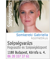 Somkereki Gabriella - kozmetikus