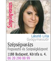 László Lilla - gyógymasszőr