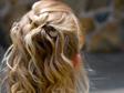 Eskövői frizura, koszorúslányoknak