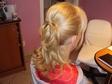 Alkalmi frizura - Feltűzés