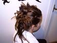 Alkalmi, szilveszteri frizura - Konty