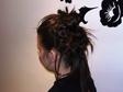 Alkalmi, ünnepi frizura - Konty