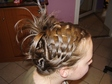 Alkalmi frizura - Konty