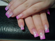 Pink műköröm